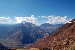 秘鲁神圣的谷 免版税库存图片