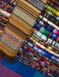秘鲁纺织品 免版税库存照片