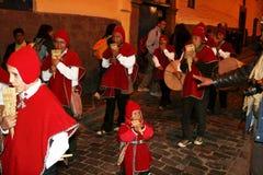秘鲁音乐 免版税库存照片