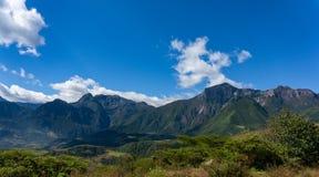 秘鲁高地在北部秘鲁 库存图片