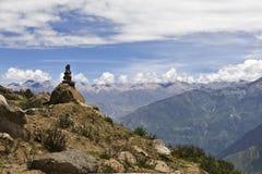 秘鲁,科尔卡峡谷 免版税库存照片