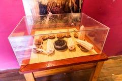 秘鲁 古老阿兹台克人和玛雅人石雕塑 库存图片
