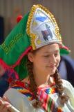 秘鲁Marinera舞蹈家 免版税库存照片