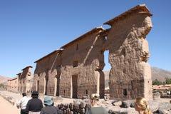秘鲁raqchi 免版税库存图片