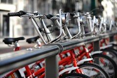 租用一辆自行车 免版税图库摄影