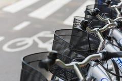 租用一辆自行车 库存照片