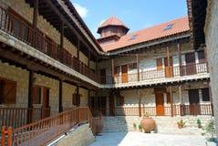 租金空间在修道院里 免版税库存图片