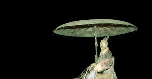 秦朝秦始皇兵马俑,羡(西安),中国 免版税库存照片