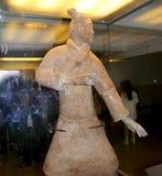 秦朝赤土陶器军队,西安(西安),中国 免版税图库摄影