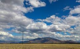 积云, Twizel, NZ 库存图片
