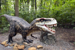 积极的恐龙 免版税库存照片