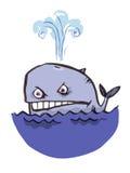 积极的鲸鱼 图库摄影