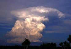 积雨云。 免版税库存照片
