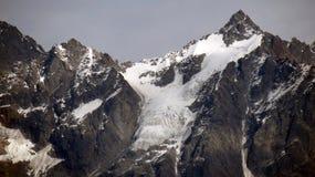 积雪的喜马拉雅山 免版税图库摄影