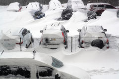 雪的欧洲。 免版税图库摄影