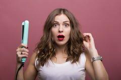 称呼头发 免版税图库摄影