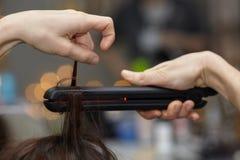 称呼头发 免版税库存照片