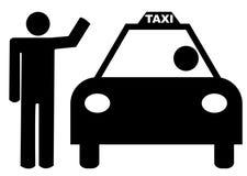 称赞的人出租汽车 向量例证