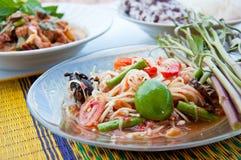 称食物索马里兰tam泰国 库存照片