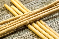 秸杆五谷食物的面粉产品 库存图片