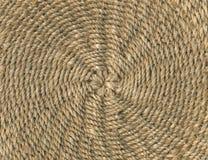 秸杆织法 库存图片