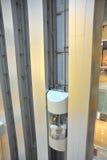 移动电梯 免版税库存照片