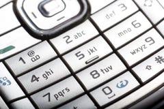 移动电话关键字 免版税库存图片