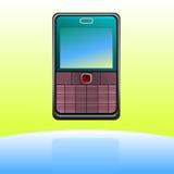 移动电话图标 免版税图库摄影