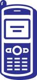 移动电话图标 免版税库存图片