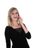 移动电话她的sonia 免版税库存照片