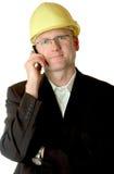 移动电话工程师 库存图片