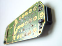 移动电话开放电话 图库摄影