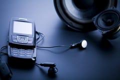移动电话扬声器系统 库存图片