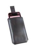 移动电话盒 免版税库存图片