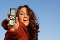 移动电话 免版税图库摄影