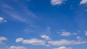 移动的云彩,时间间隔4K 股票视频