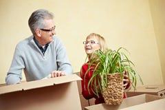 移动装箱人前辈的配件箱 免版税图库摄影