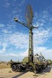 移动雷达39N6E 免版税图库摄影