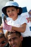 移民集会华盛顿 免版税库存图片