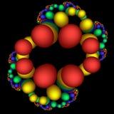 稀奇的脱氧核糖核酸 库存图片