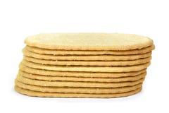 稀薄的曲奇饼 库存图片