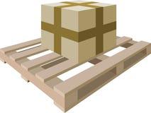 程序包货盘 向量例证