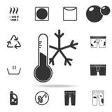 程度冷却的象 详细的套洗衣店象 优质质量图形设计 其中一个网站的汇集象, w 皇族释放例证