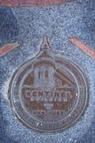 稍兵大厦的纪念勋章,旧金山选定了地标, 库存图片