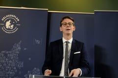 税和收支的卡斯滕LAURITZEN_MINISTER 库存照片