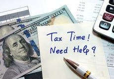 税时间 库存照片