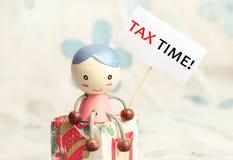 税时间 免版税图库摄影