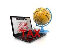税概念 库存照片