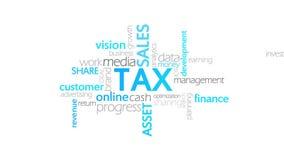 税,印刷术动画 皇族释放例证