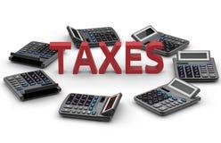 税-恒定的演算概念 皇族释放例证